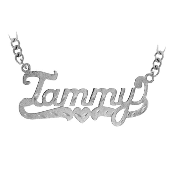 "Name necklace ""Tammy"" sterling silver"